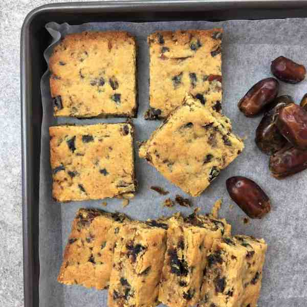 Easy Date Slice Recipe Melt Mix Chef Not Required