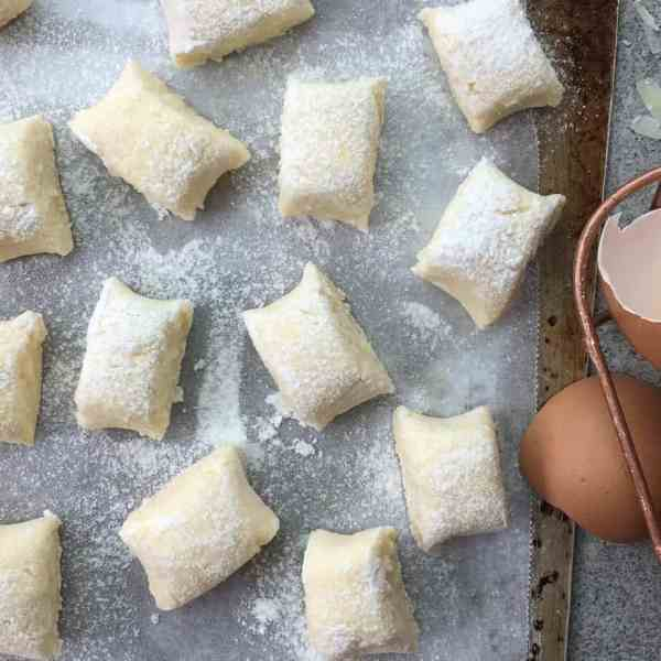 Easy ricotta gnocchi - home made in 30 mins & taste much better than store bought
