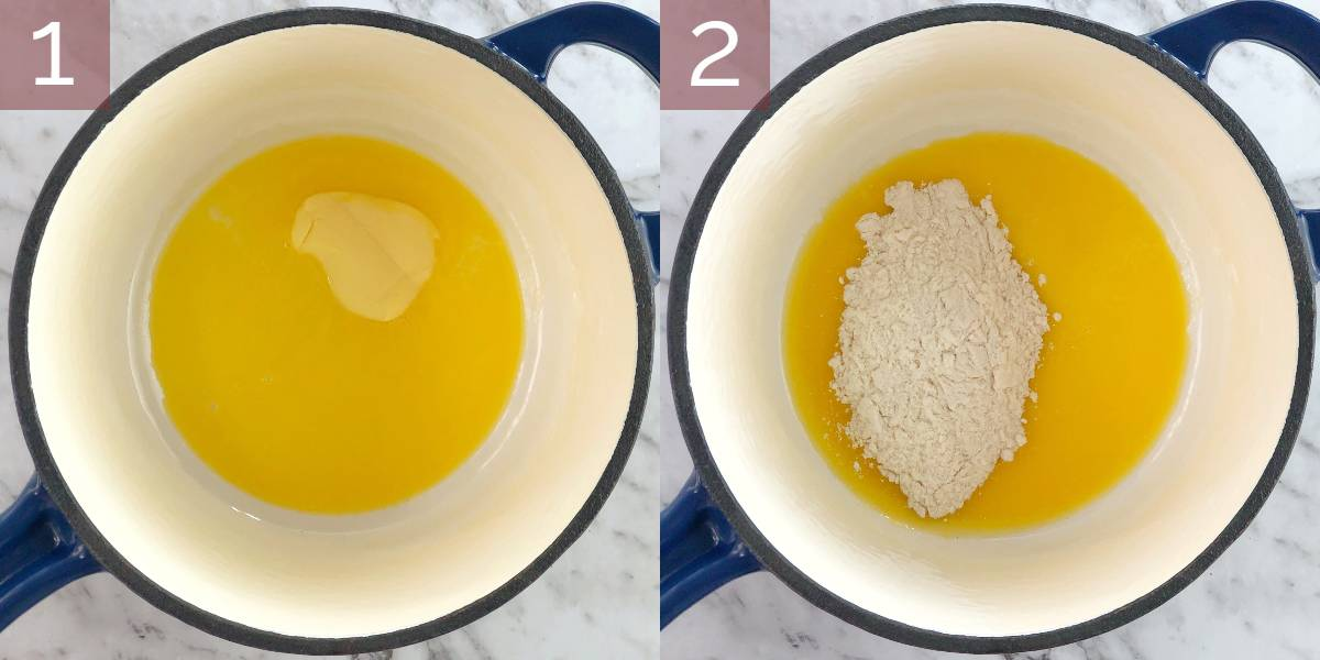 process images showing how to cook recipe