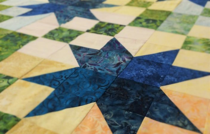 Basting Your Quilt Top