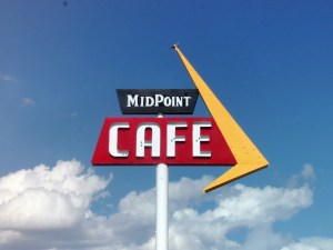Midpoint Cafe - arguably the middle spot of Route 66