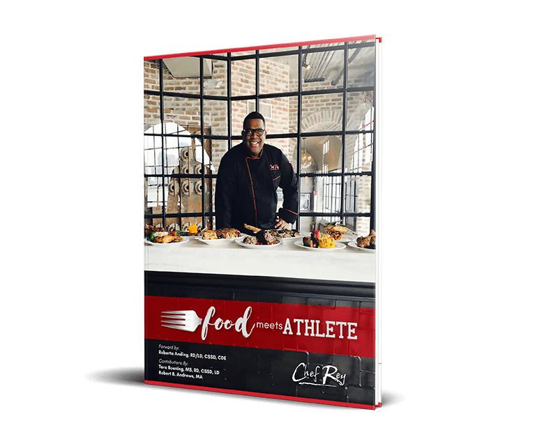 Food Meets Athlete by Chef Rey