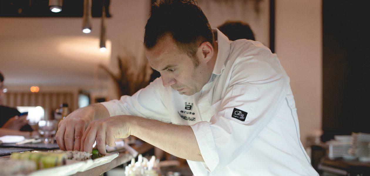 Tomeu Martí, chef del Restaurante Arume