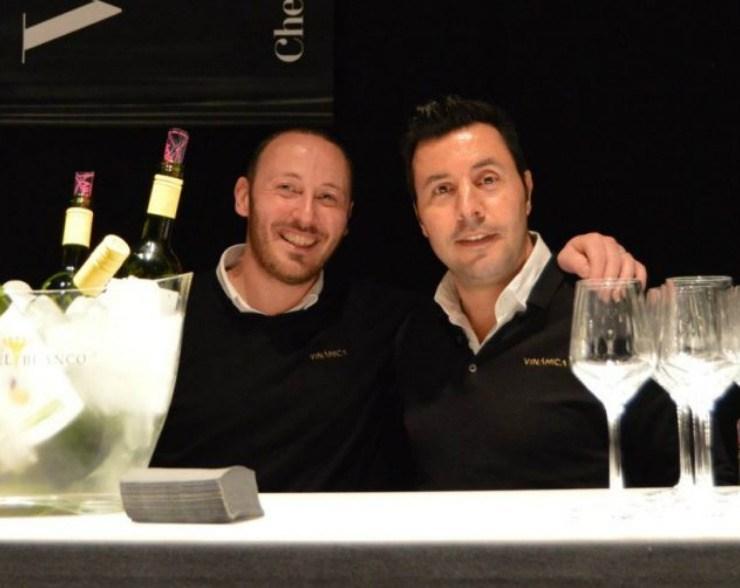 Javi Pons y Tomeu Taura, fundadores de Vinamica, un Peccata Minuta de Chefsin