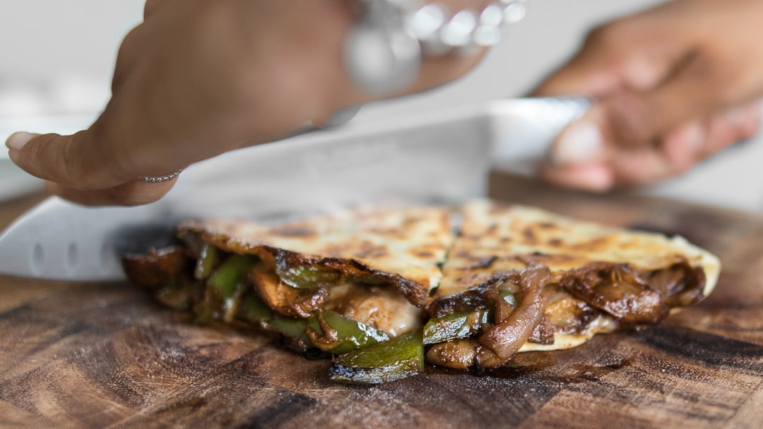 Philly Cheese Steak Quesadillas