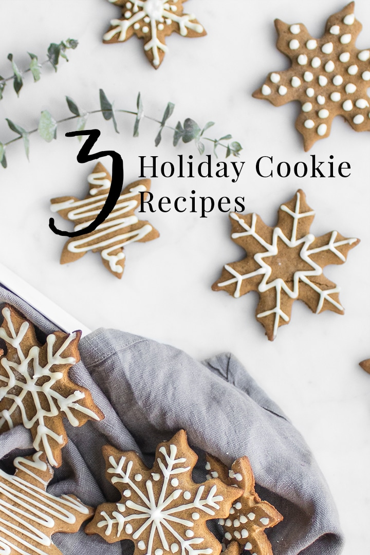 We're sharing our go-to holiday cookie recipes sure to impress fellow cookie exchanges, family, friends and even Santa. #ChristmasBaking #Cookies #HolidayCookies