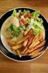 fish with tahini sauce