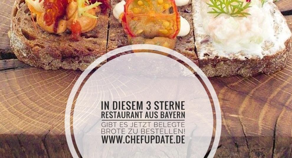In diesem 3 Sterne Restaurant aus Bayern gibt es jetzt belegte Brote zu bestellen!