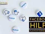 Facebook hilft Kleinunternehmen