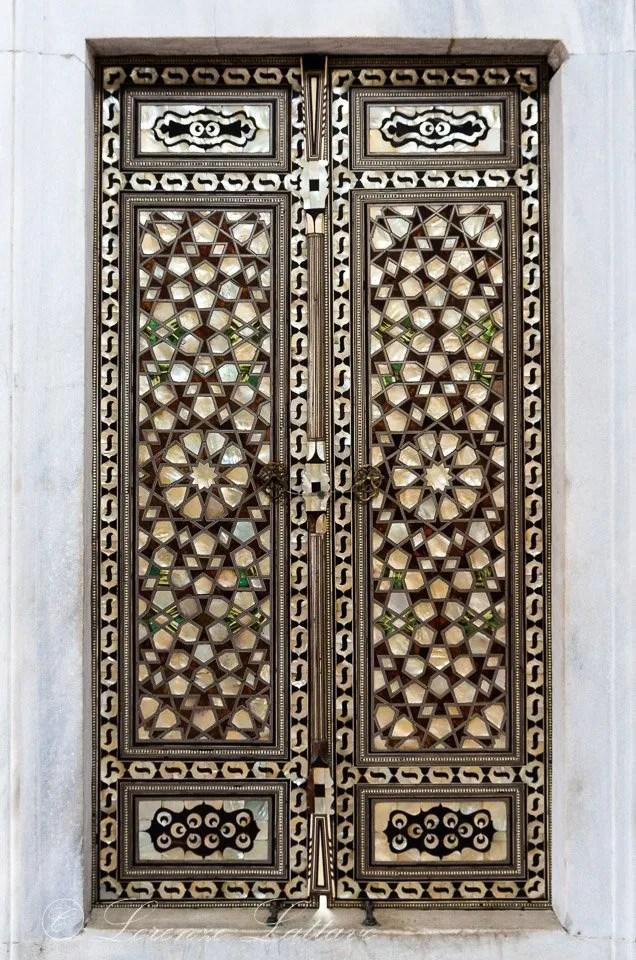 Porta Intarsiata in madreperla - Palazzo di Topkapi