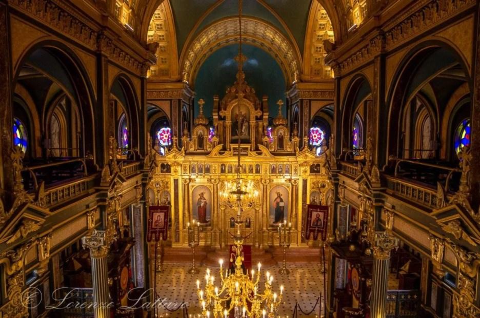 interni di Sveti Stefan Kilisesi a istanbul