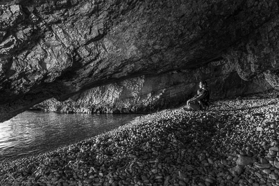 cheilviaggioabbiainizio nella grotta della spiaggia dafnoudi a cefalonia