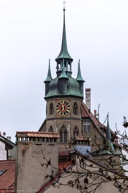 torre della villa di friburgo
