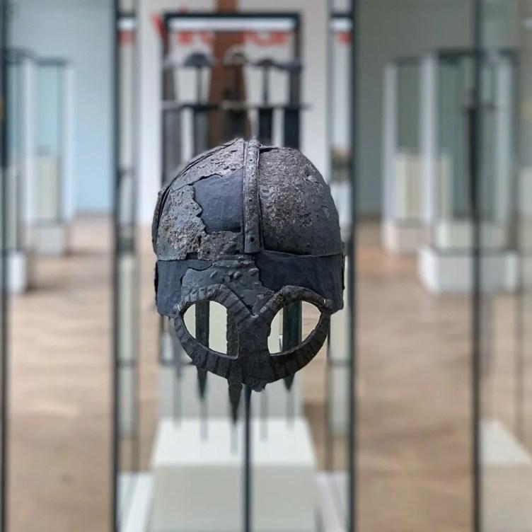 elmo vichingo all'Histroic Museum