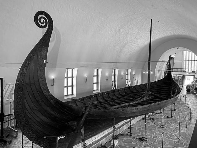 Nave 2 al Museo delle Navi Vichinghe