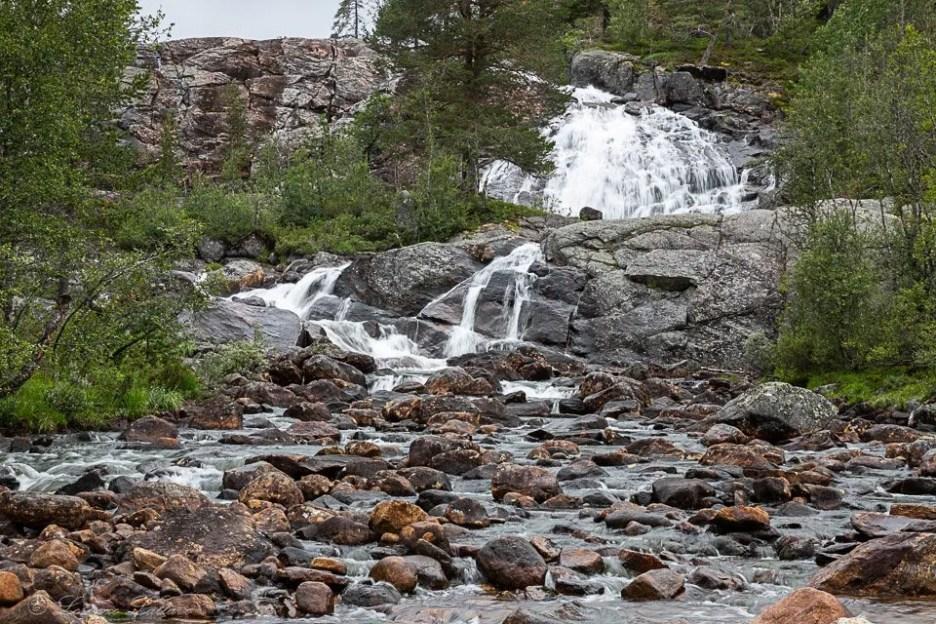 Cascata nel Telemark