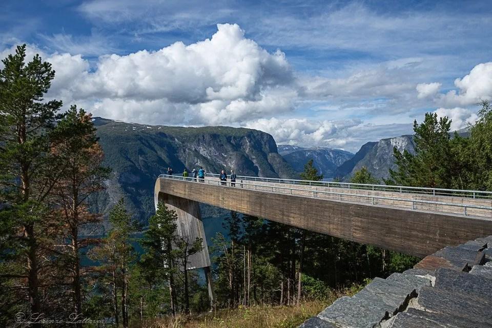 Ponte di legno dello Stegastein viewpoint