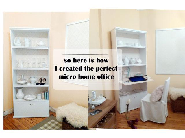diy micro mini home office closet office cabinet office