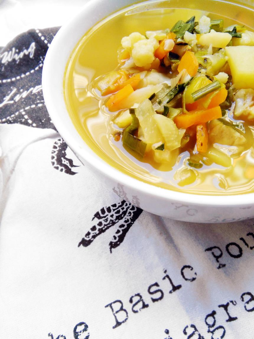 winter veggie soup flu buster