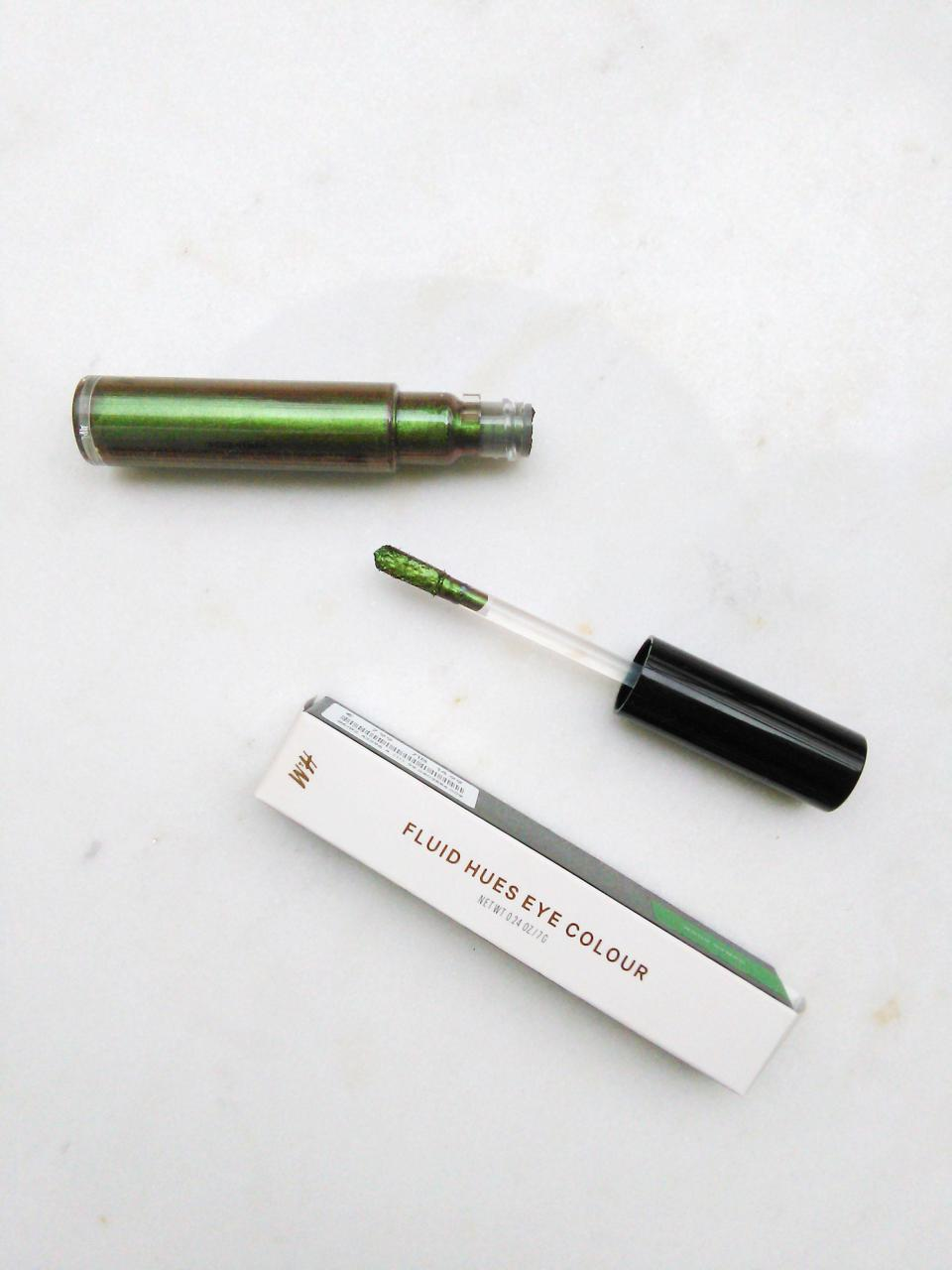 H&M make up review fluid hues wood nymph liquid eyeshadow