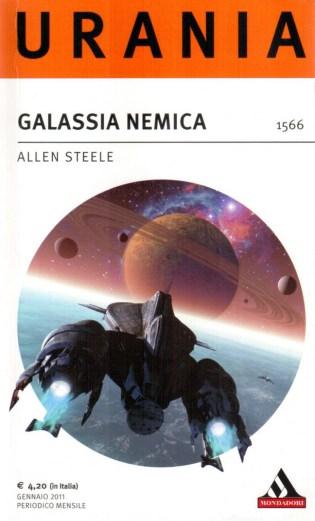 libro Galassia Nemica, titolo originale Galaxy Blues, romanzo di fantascienza Space Opera di Allen Steele