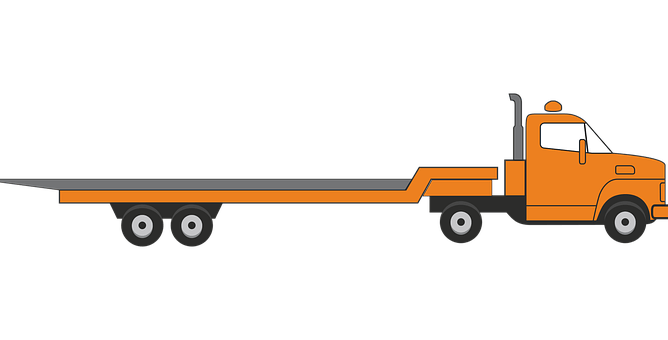 Animated tow truck