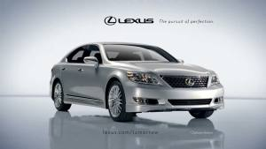 Lexus gray model car