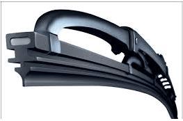 Black auto wiper