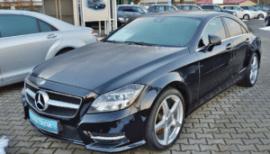 a dark shiny car