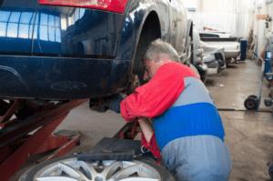 a professional mechanic