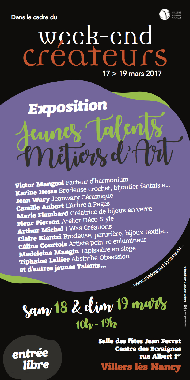 flyers WE17 jeunes talents