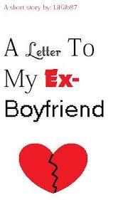 ex boyfie letter