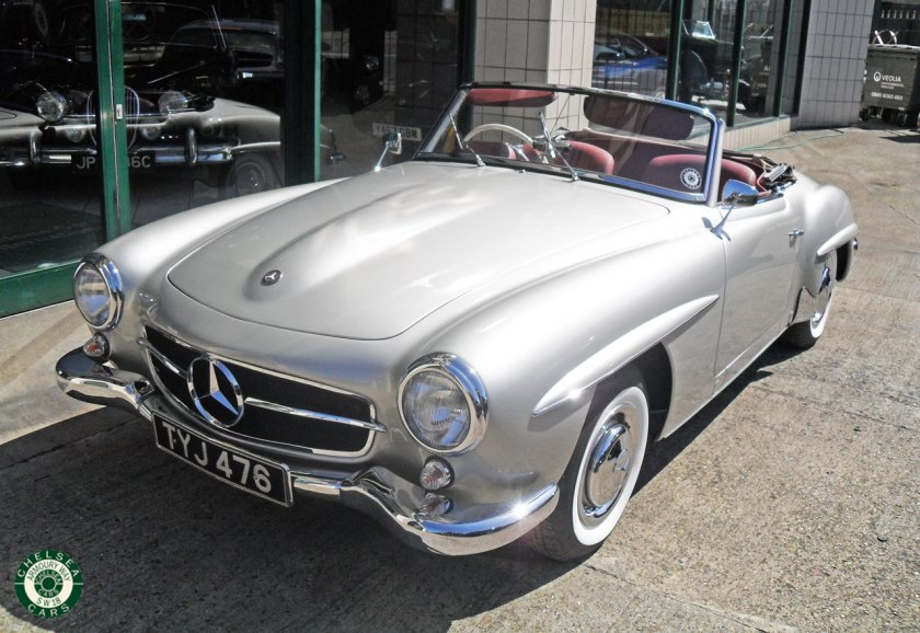Photo 1957 Mercedes 190 SL For Sale