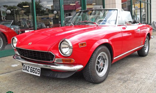 1981 Fiat 124 Spider For Sale