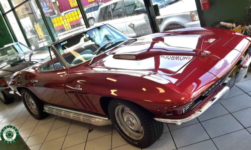 1966 Chevrolet Corvette 427 Turbo Jet Convertible For sale