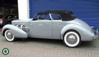 1937 ​Cord Phaeton 812 s/c Supercharged Convertible For Sale