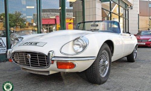 1973 Jaguar E Type V12 Roadster For Sale