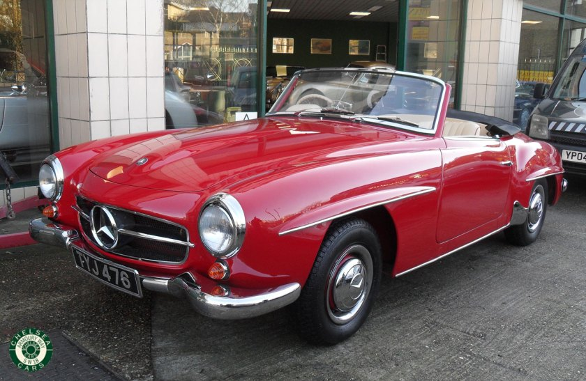 Photo 1957 Mercedes 190 SL For Sale