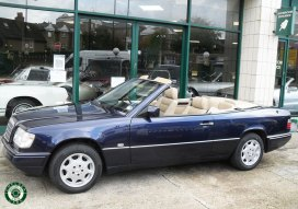1997 Mercedes E220 Cabriolet For Sale