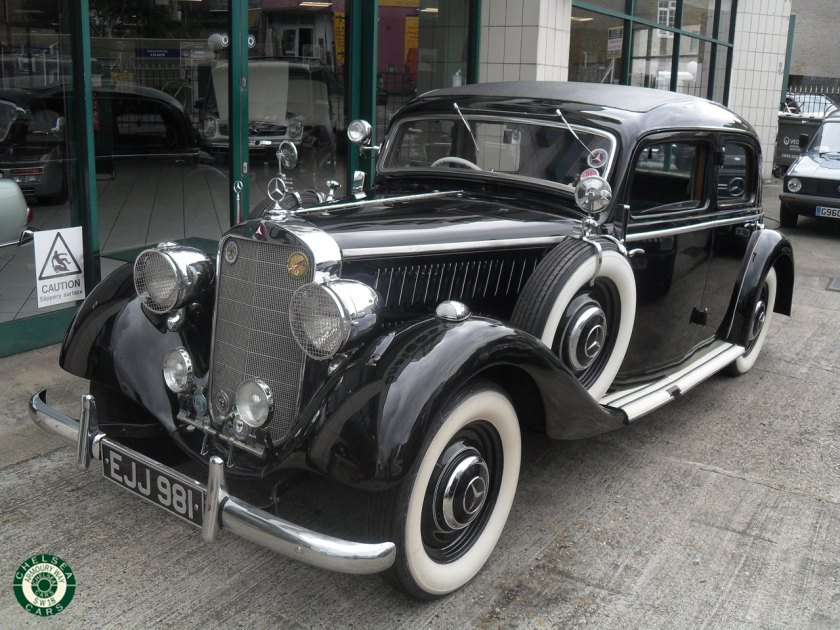 Photo 1937 Mercedes 230 Saloon For Sale