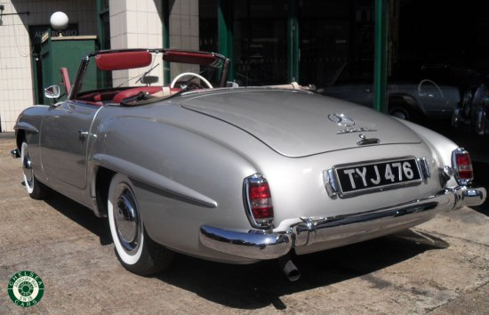 1957 Mercedes 190 SL For Sale
