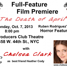 Postcards - Chelsea Clark in THE DEATH OF APRIL
