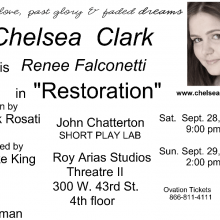 Postcards - Chelsea Clark in RESTORATION