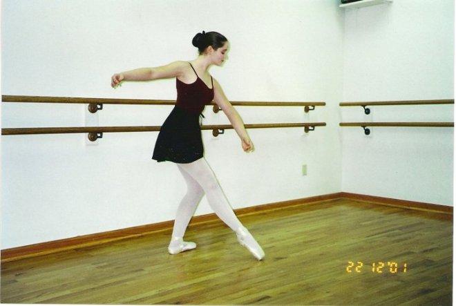 Training: Chelsea Clark at Irveline's Ballet Studio