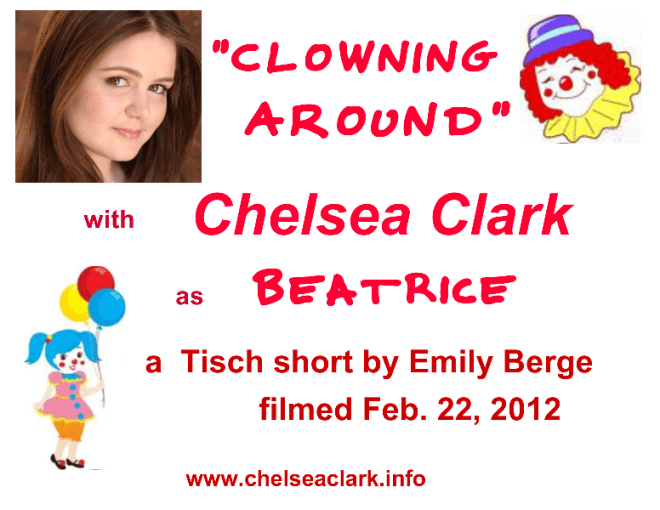 NYU Film Shorts: Chelsea Clark in Emily Berge's CLOWNING AROUND