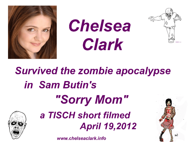 NYU Film Shorts: Chelsea Clark in Sam Butin's SORRY MOM