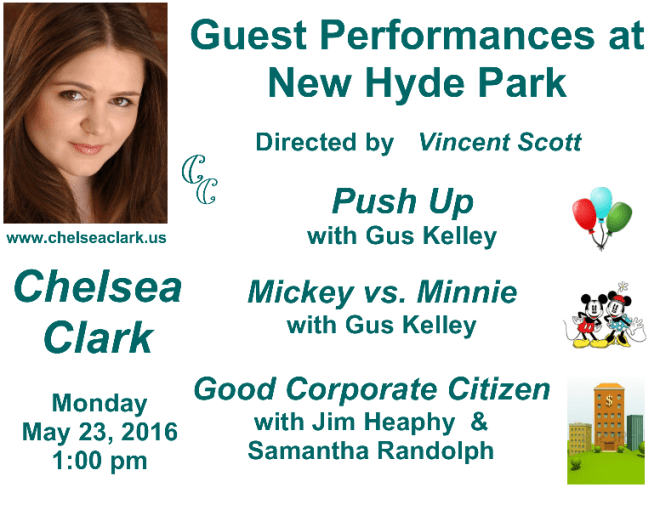 Chelsea Clark Performs at New Hyde Park