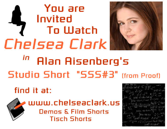 Chelsea Clark in Alan Aisenberg's NYU Film Short