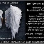 Chelsea Clark performs as Eve in Renee McNeil's THE RISE AND FALL OF LUCIFER at John Chatterton's Midtown International Theater Festival
