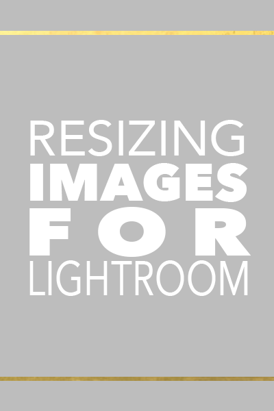 Resizing Images for Facebook with Lightroom | Photography and Editing Mentor